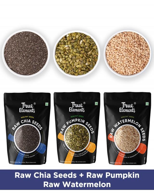 Raw Seeds Combo - Antioxidants Rich