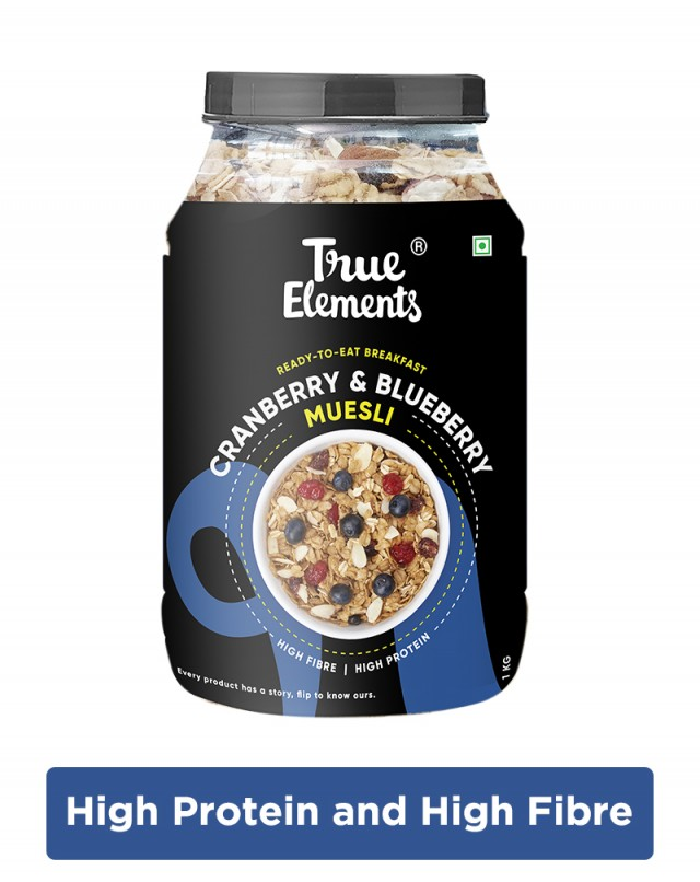 Cranberry And Blueberry Muesli - Fibre Rich