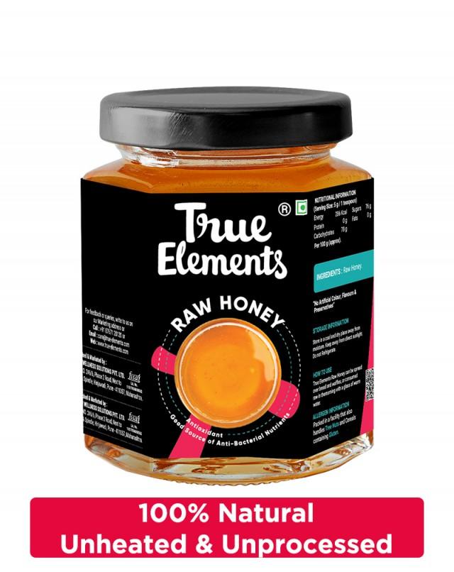 Raw Honey - Unheated And Unprocessed
