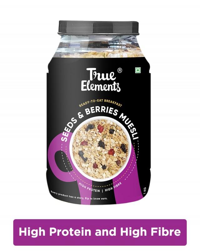 Seeds And Berries Muesli - Fibre Rich