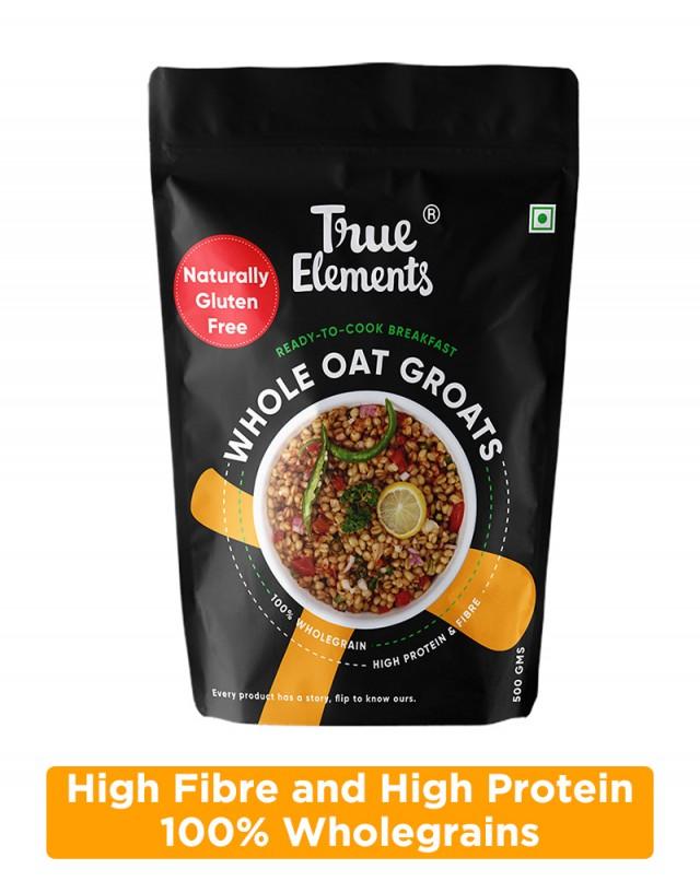 Gluten Free Whole Oat Groats - Protein Rich