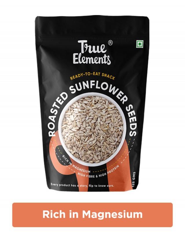 Roasted Sunflower Seeds - Vitamin E Rich