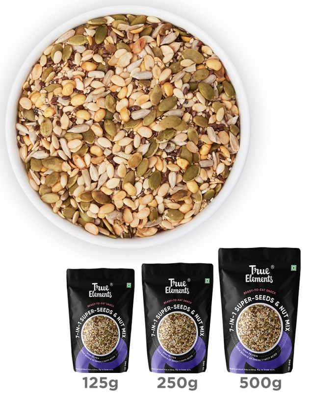 Roasted 7 in 1 Super Seeds Nut Mix - Diabetic Friendly
