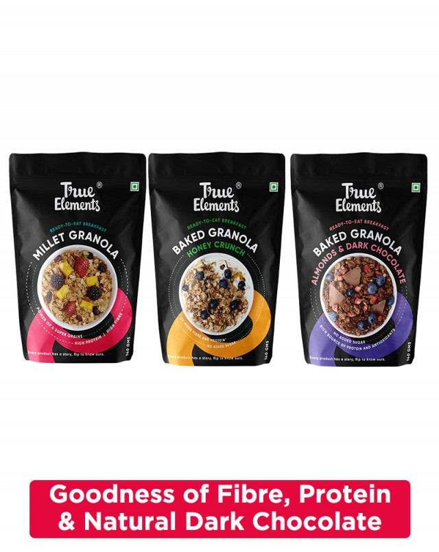 Wholegrain Granola Combo (Pack of 3)