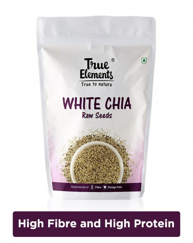 Raw White Chia Seeds - Omega Fats Rich